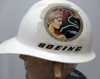 Vintage 70s NASA Hat, Apollo Program Hat, Space Aviation Hat, Boeing Corporation Hat