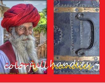 Vintage toolbox Rajasthan India