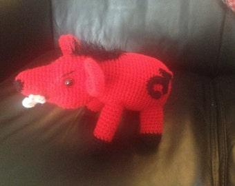 Crochet Razerback