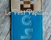 Minecraft Steve personalized bookmark