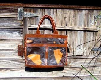 Bag Patchwork vintage / / 1970