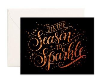 Sparkle Season Greeting Card