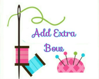 Add Extra Mini Bow!