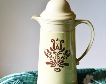 PHALTZGRAFF COFFEE CARAFE Cream and Brown
