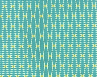 1/2 Yard - For You - Ongoing Teal - Zen Chic - Brigitte Heitland - Moda - Fabric Yardage - 1574 15