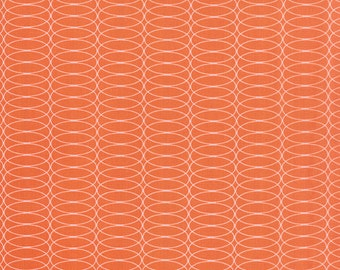 1/2 Yard - For You - Circulating Orange - Zen Chic - Brigitte Heitland - Moda - Fabric Yardage - 1575 11