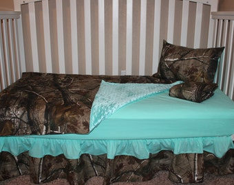 RealTree  AP 5 Piece Crib Bedding Set