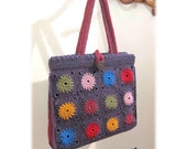Bright Spot crochet tote pattern instant downloadable .pdf