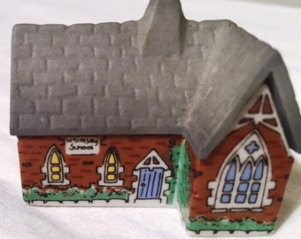 Wade Miniature Houses Set - 1988 - THE CHAPEL
