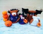 Uilen Halloween - compleet viltpakket