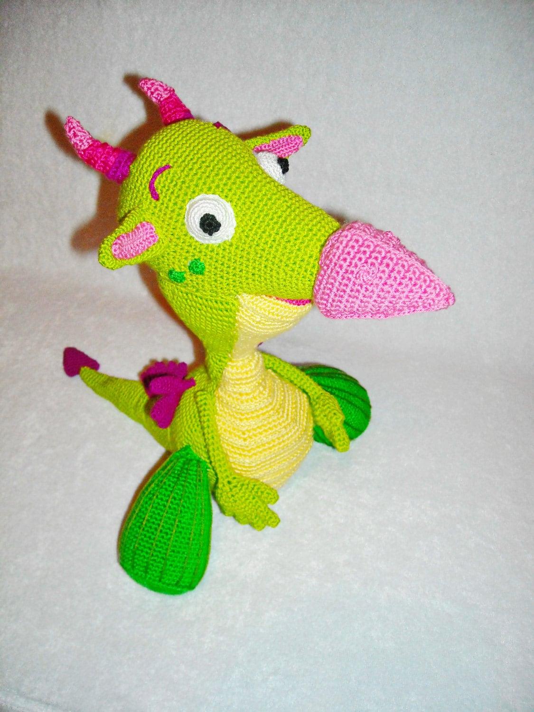 cute dragon draco from baby tv channel crochet draco dragon