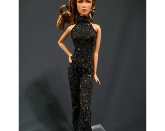 Dolls jumpsuit for Fashion royalty,,Silkstone,All barbie doll- No.02100