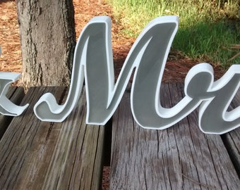Mr and Mrs, Wedding Mr and Mrs, Mr and Mrs Wedding Sign, Mr and Mrs Sign, Mr and Mrs Wedding Decor, Mr and Mrs Reception, Custom Mr and Mrs