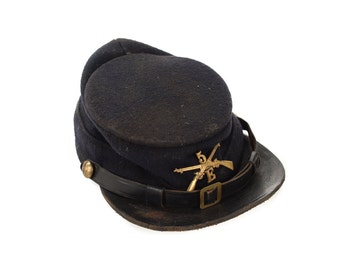 US Army model 1872 Original Kepi -Indian War Soldier Hat -Rare
