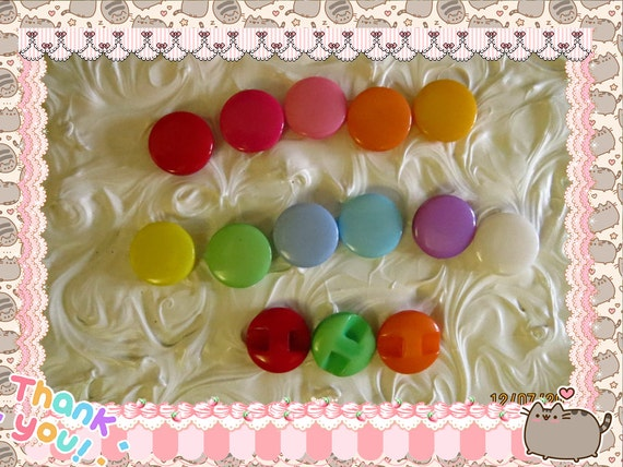 0: )- CABOCHON -( Rainbow Round Candies Candy