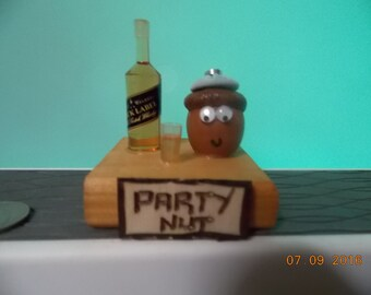 "Party Nut-What are you ""Nuts"" about?"