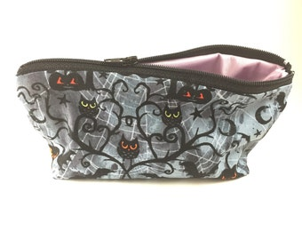 Reusable Snack Bag, Halloween Zipper Pouch, Washable Snack Bag