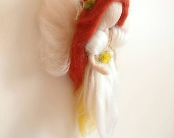 Christening/ Confirmation Waldorf inspired needle felted Angel.