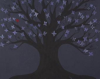 Butterfly Tree, fine art print