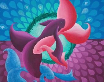 Moonrise Fish fine art print