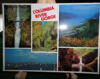 "Columbia River Gorge ""Alaska Joe Original"" Vintage Postcard 1970's"