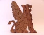 Winged Lion Wooden Jigsaw Puzzle