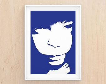 Portrait Illustration - Printable Art