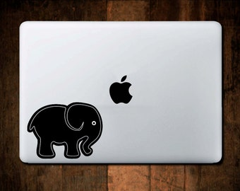 Elephant Decal macbook decal, laptop decal, elephant sticker, ipad decal #2