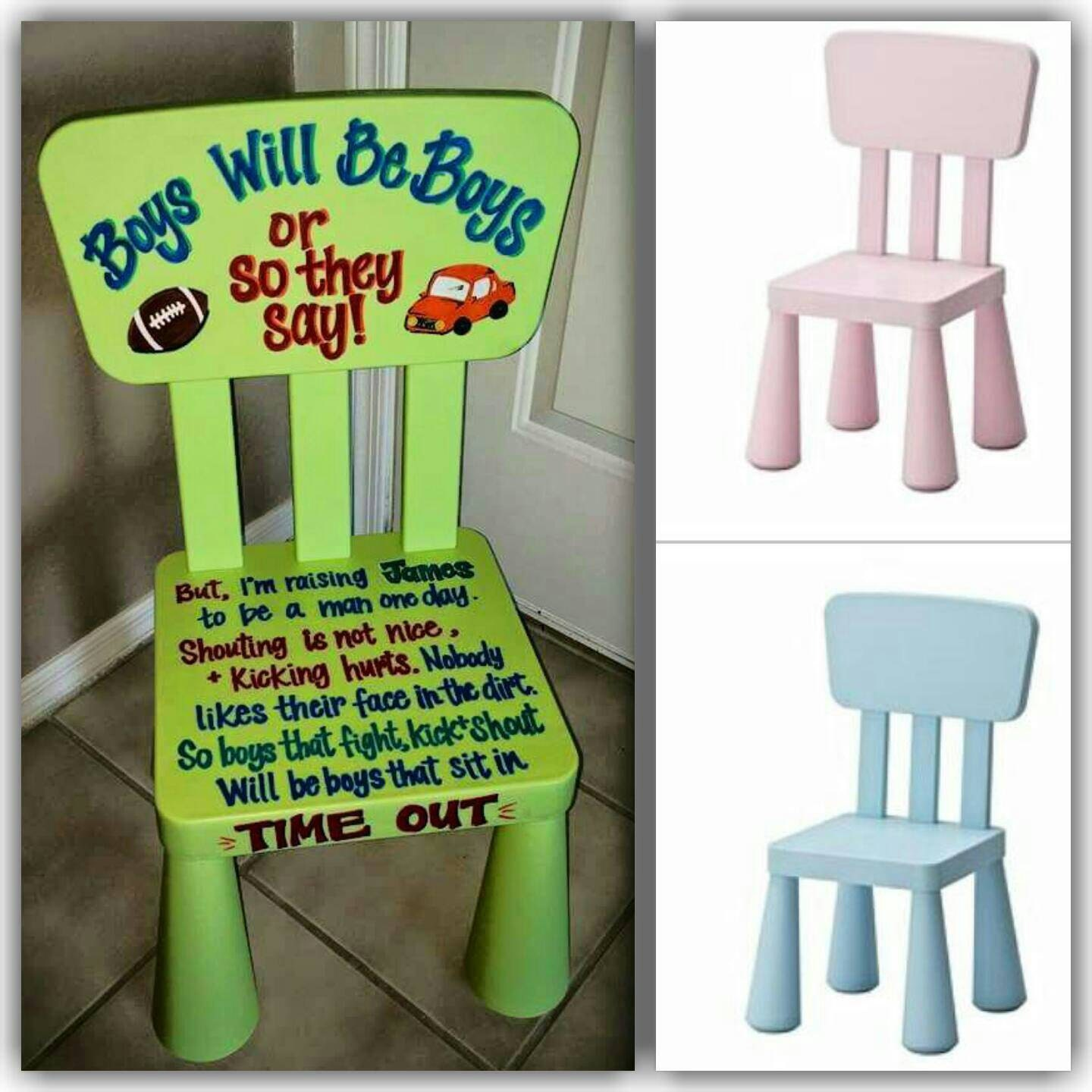 Time out chair for boys the image kid for Kids chairs for boys