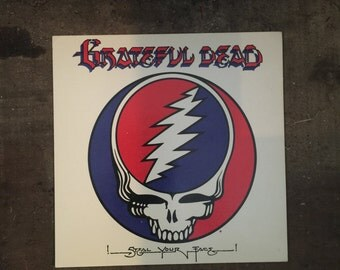 1976 Grateful Dead !STEAL YOUR FACE!  Art Card