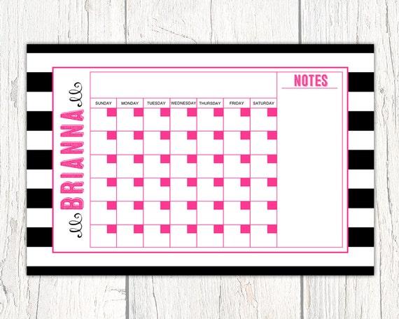 Office Calendar Board : Dry erase calendar board weekly wipe by