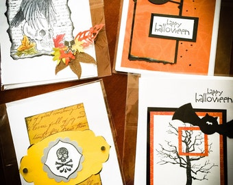 Halloween Cards - Ready to mail!!