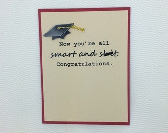 All Smart and Sh*t Grad card
