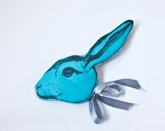 Blue Rabbit Headdress