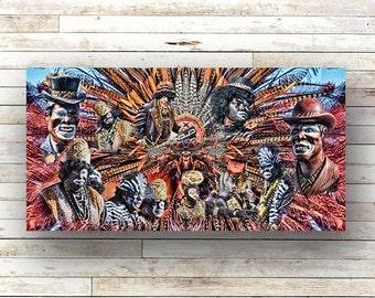 ZULU - New Orleans art - Mardi Gras art - Architecture - Canal Street - Parade - St. Charles Avenue