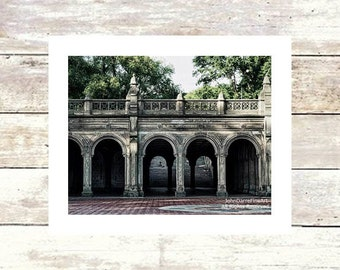 BETHESDA TERRACE-Central Park NYC Historic Architecture-Fine Art Photograph-Limited Edition of 250