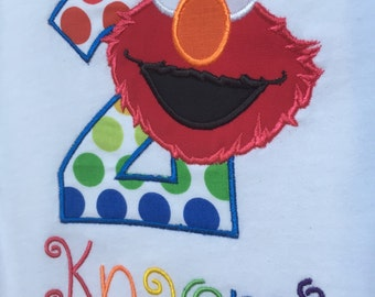 Elmo Second Birthday Shirt
