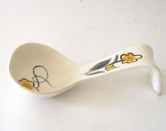 Handpainted Gravy and Soup Ladle
