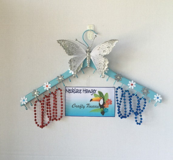 Jewelry Organizer Wall Hanger Decorative By Craftytoucanshop