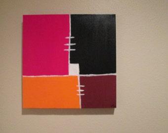 WhiteSpace. Acrylic Painting