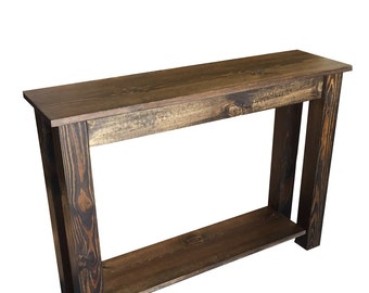 Yukon Sofa Table /  Entry Table / Sofa Table / Foyer table/Media Table