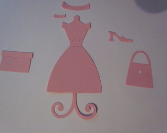 dress and accessories die cuts