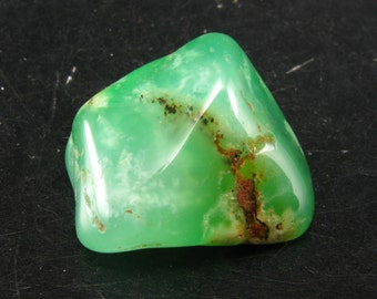 Rich Green Chrysoprase Polished From Australia - 1.2""
