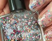 Petal Confetti 10ml glitter nail polish