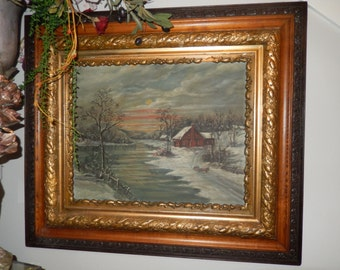 ANTIQUE ORIGINAL PAINTING