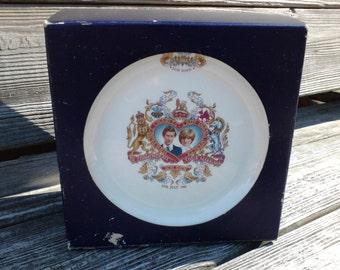 Lady Di, Lady Diane, Charles & Diana Commemorative Dish Set Vintage China