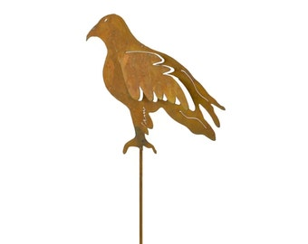 Eagle Metal Garden Stake, Yard Art GS33