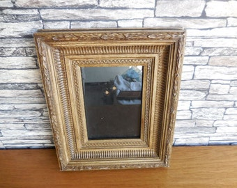 A Vintage French Wooden Photo Frame