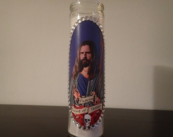 Rob Zombie Prayer Candle