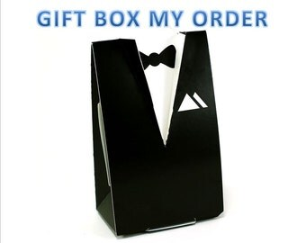 GIFT BOX my ORDER, Tuxedo gift boxes, Suit gift boxes